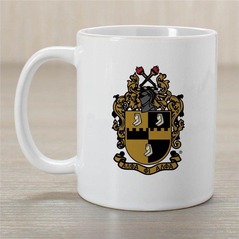 Alpha Phi Alpha Greek Crest Coffee Mug