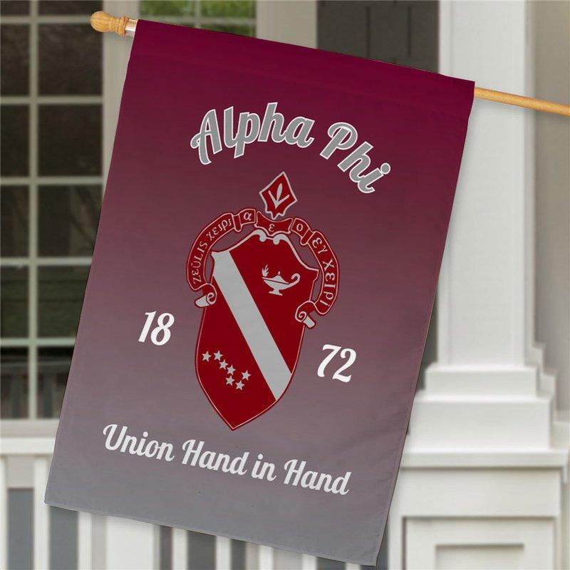 Alpha Phi House Flag