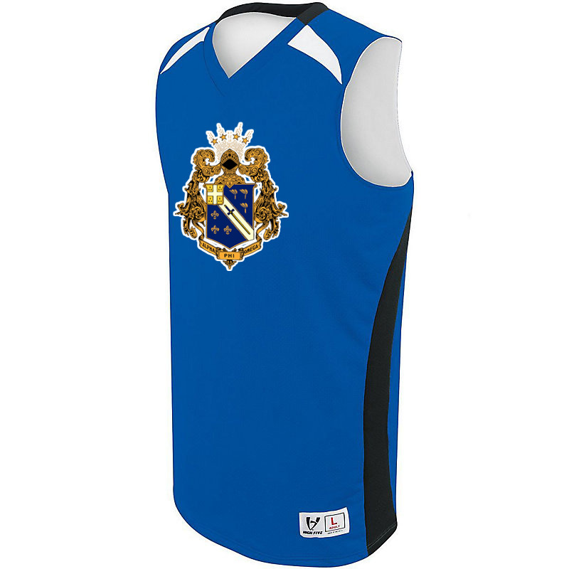 Alpha Phi Omega High Five Campus Basketball Jersey