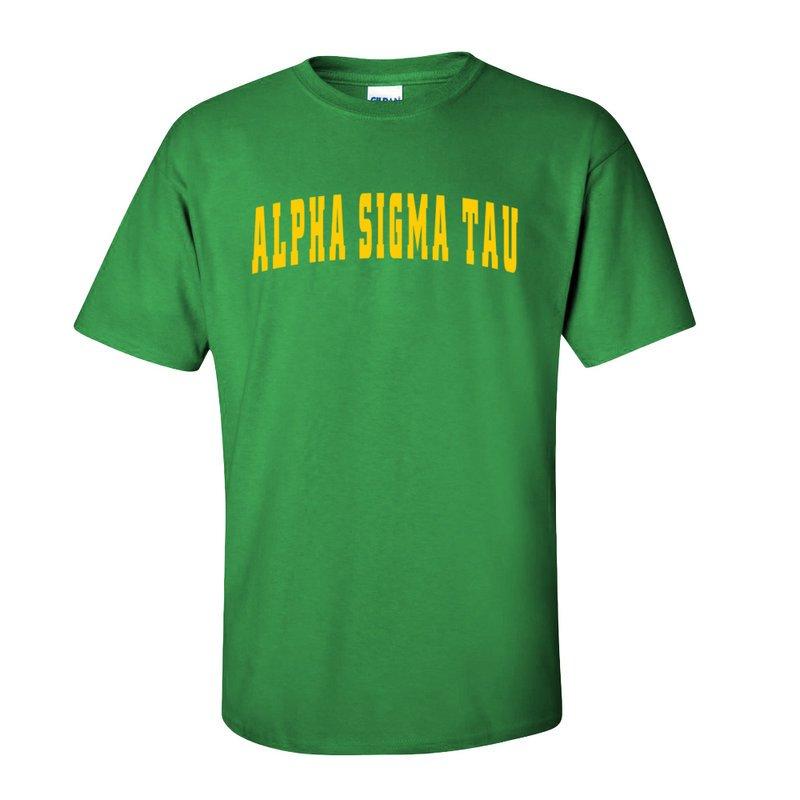 Alpha Sigma Tau Letterman T-Shirts