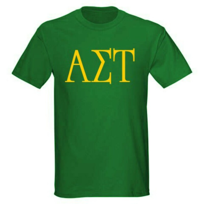 Alpha Sigma Tau University Greek T-Shirts