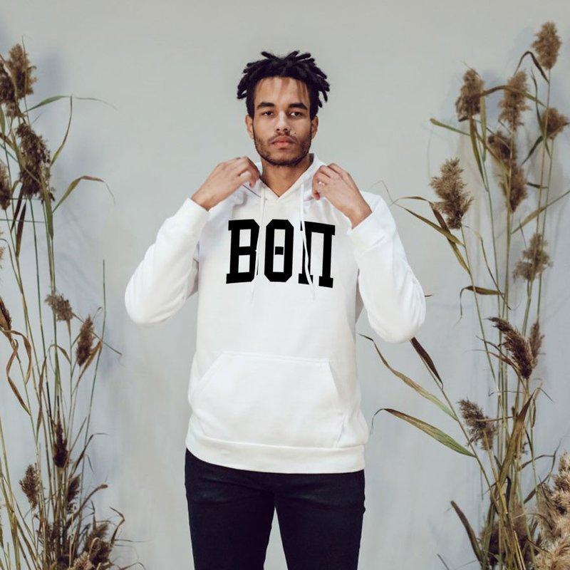 Beta Theta Pi Arched Greek Letter Hooded Sweatshirt