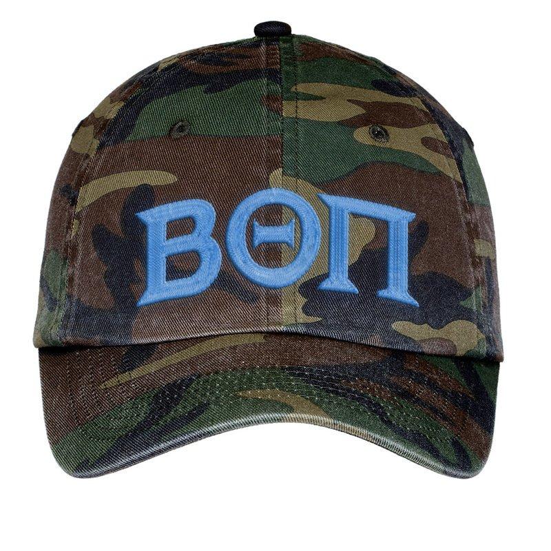 Beta Theta Pi Lettered Camouflage Hat