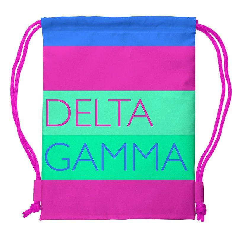 Delta Gamma Drawstring Backpack