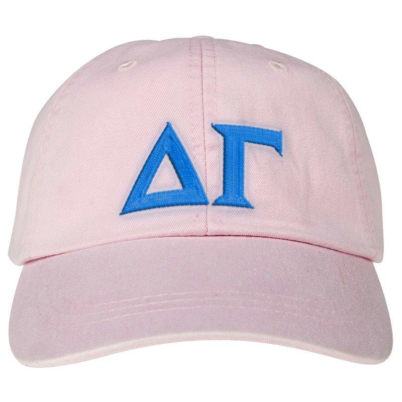 Delta Gamma Lettered Premium Pastel Hat