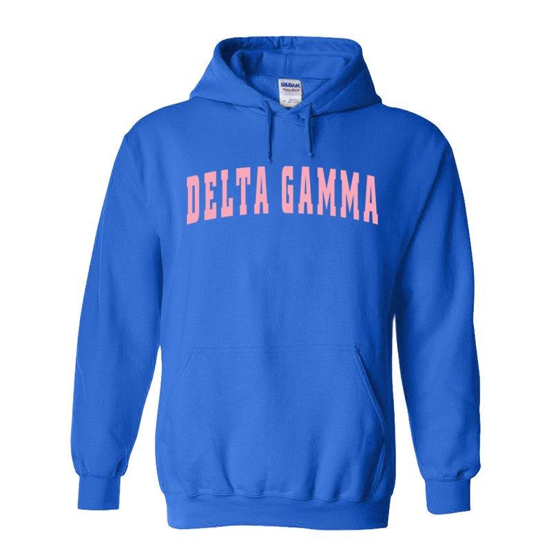 Delta Gamma Letterman Sweatshirt