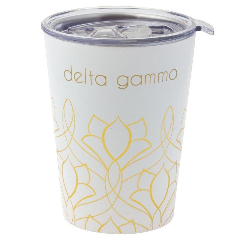 Delta Gamma Short Coffee Tumblers