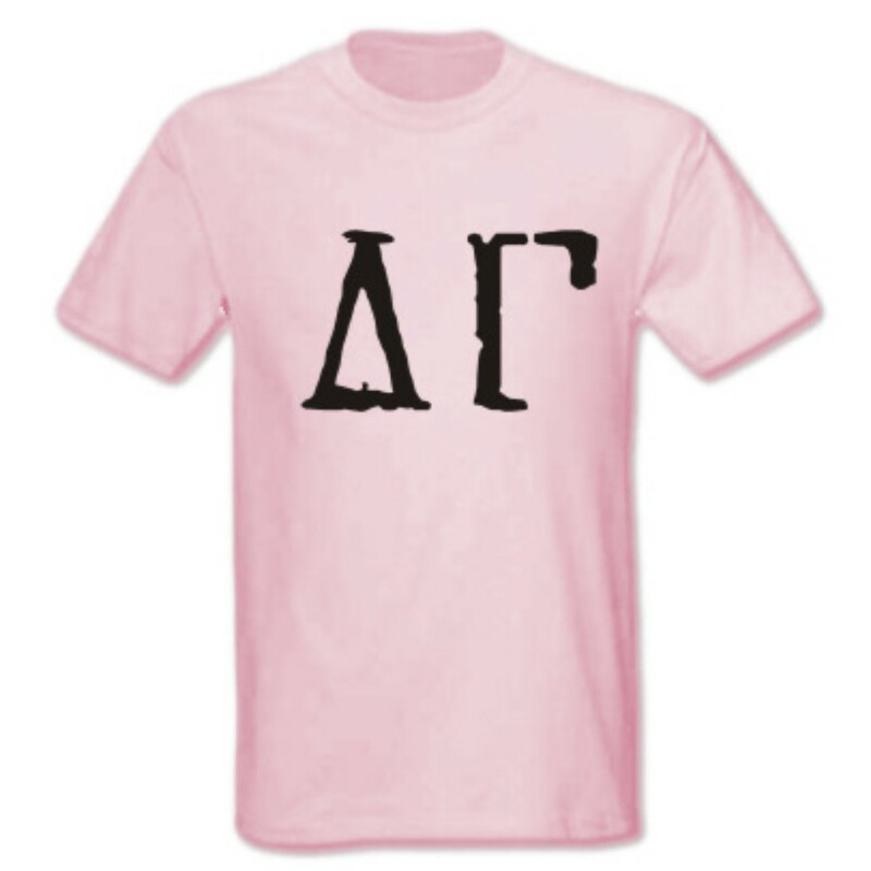 Delta Gamma Type Greek Shirt