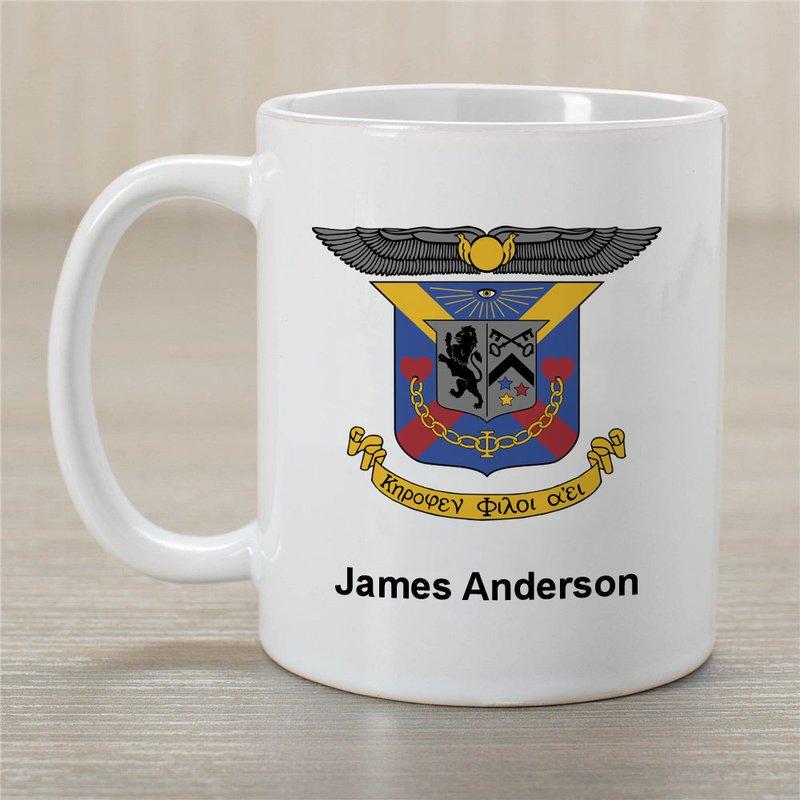Delta Kappa Epsilon Greek Crest Coffee Mug - Personalized!
