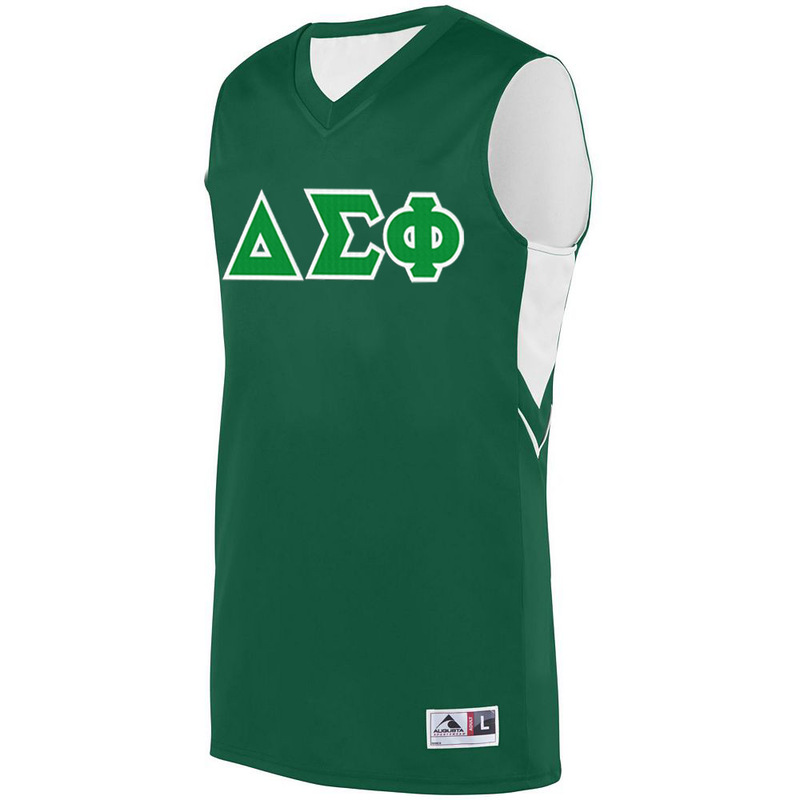 Delta Sigma Phi Alley-Oop Basketball Jersey