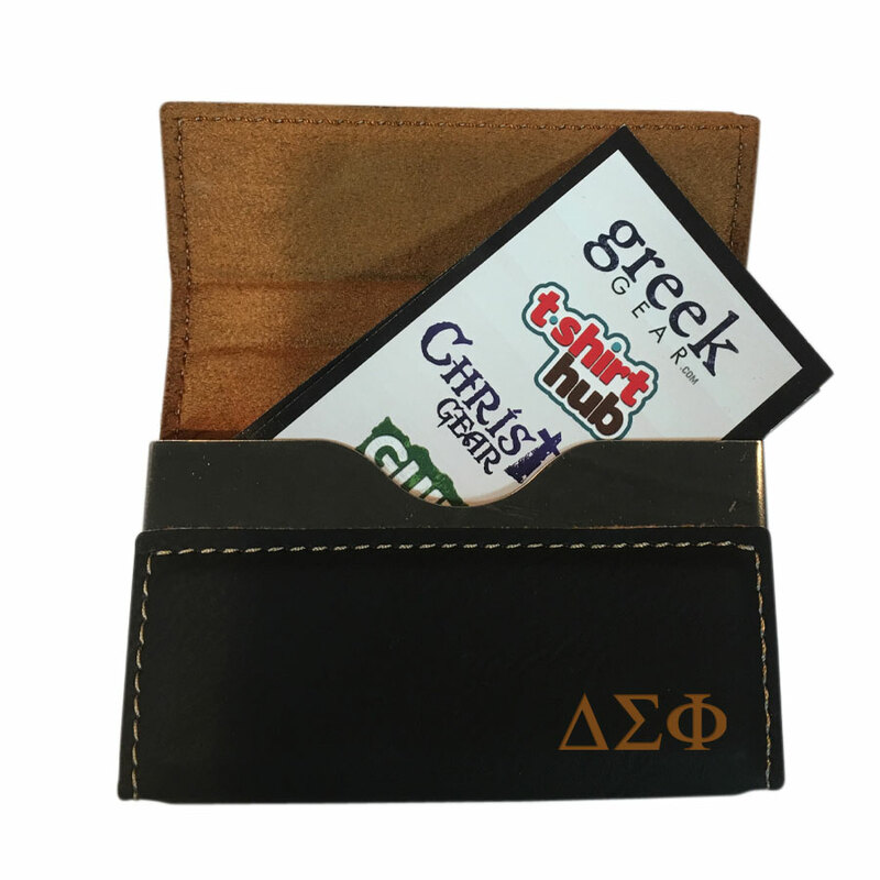 Delta Sigma Phi Executive Hard Business Card Holder