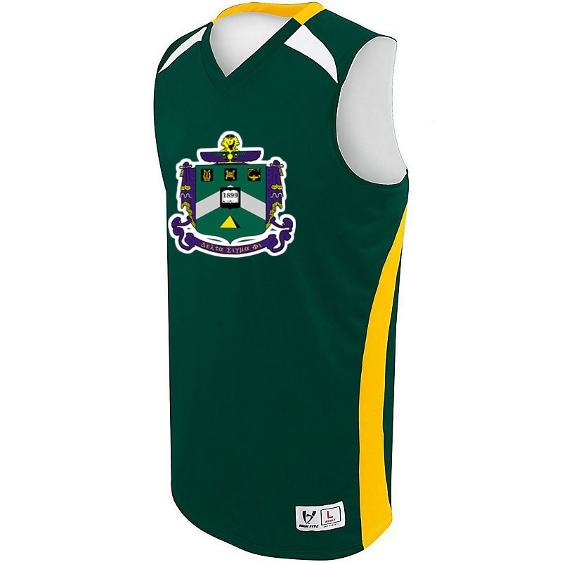 Delta Sigma Phi High Five Campus Basketball Jersey