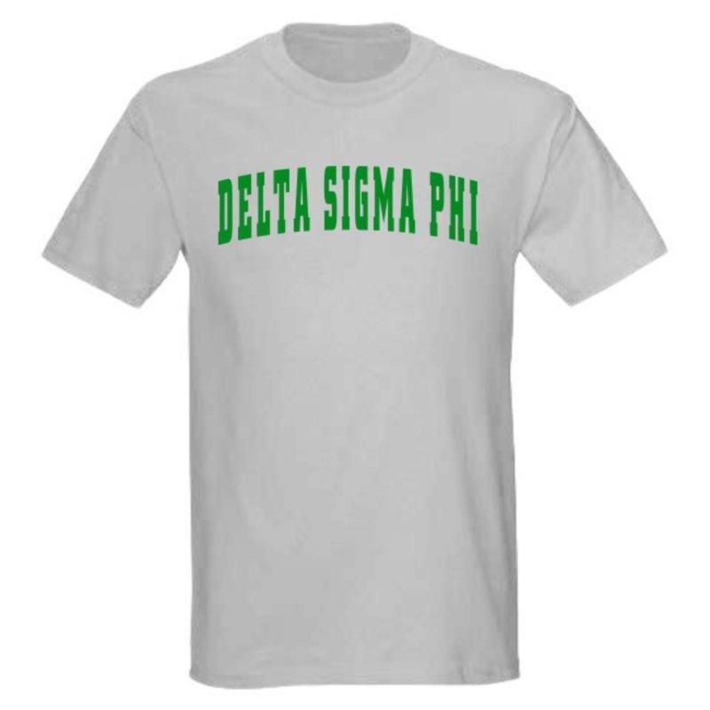 Delta Sigma Phi letterman tee