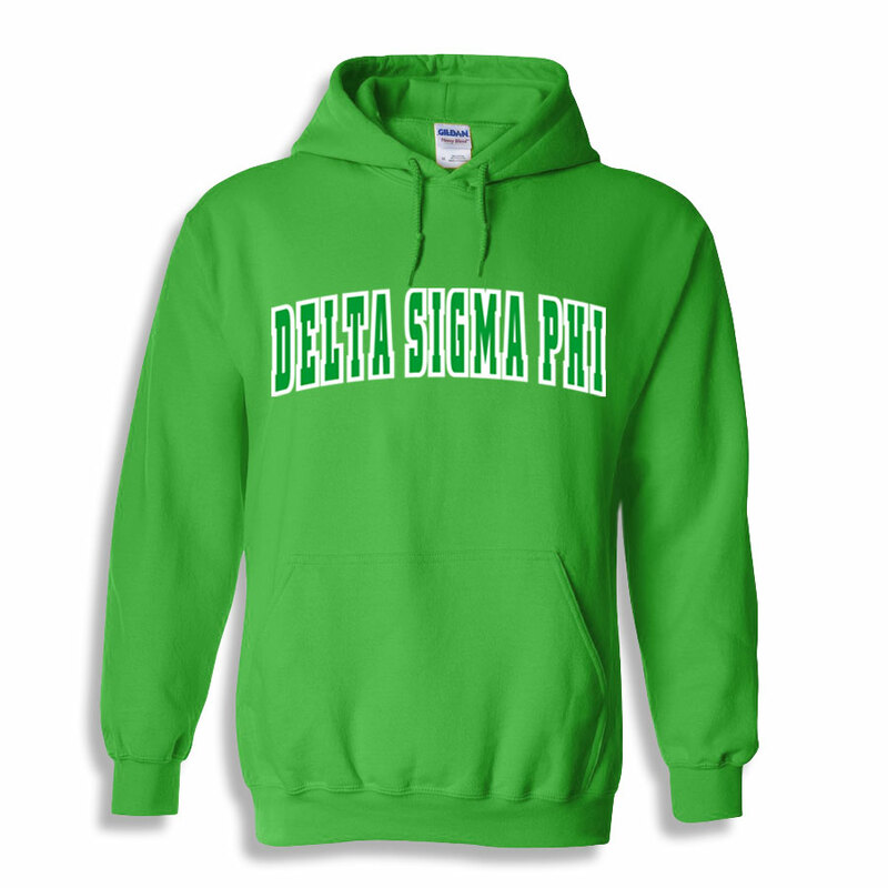 Delta Sigma Phi Letterman Twill Hoodie