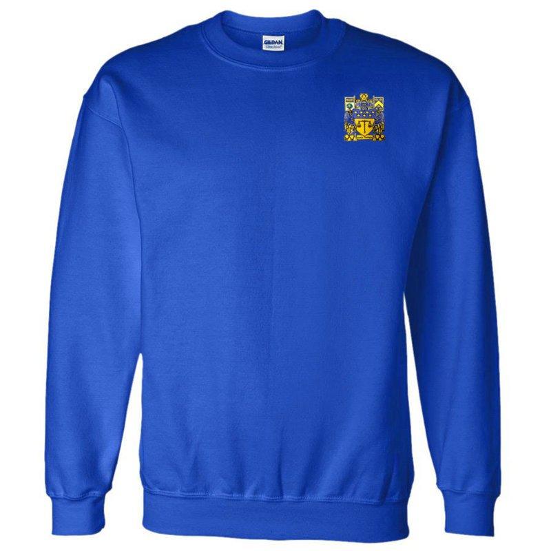 DISCOUNT-Delta Upsilon World Famous Crest - Shield Crewneck Sweatshirt
