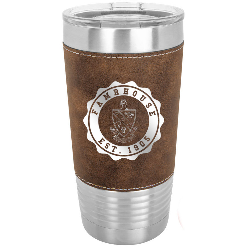 FARMHOUSE Leatherette Polar Camel Tumbler