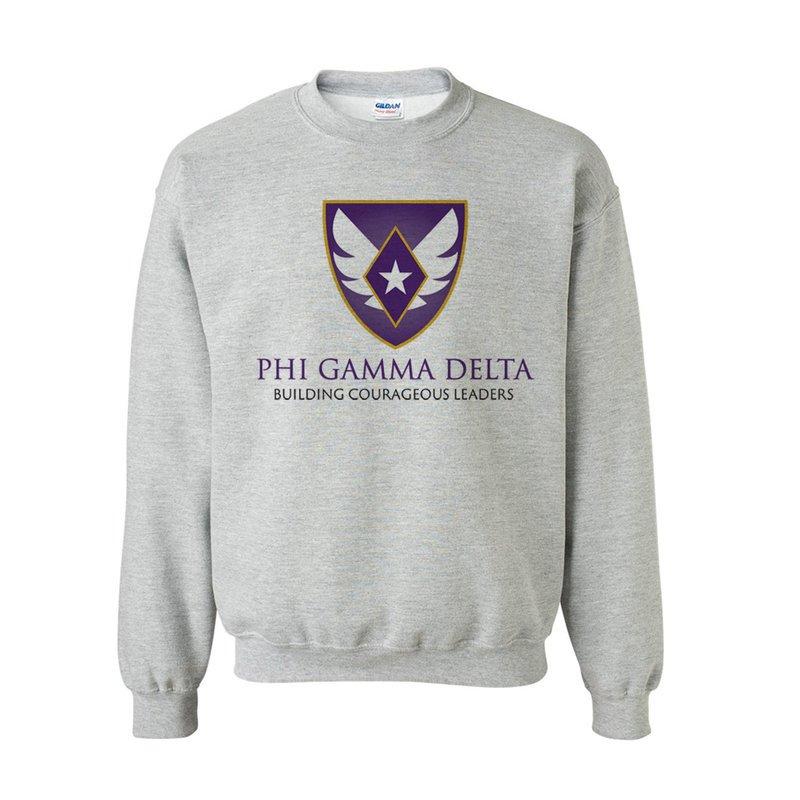 1eef174f FIJI Fraternity Logo Crewneck Sweatshirt SALE $30.00. - Greek Gear®