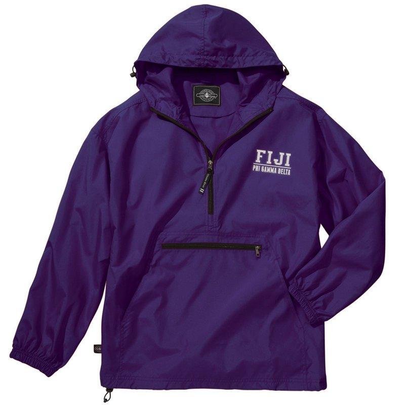 FIJI Fraternity Pack-N-Go Pullover