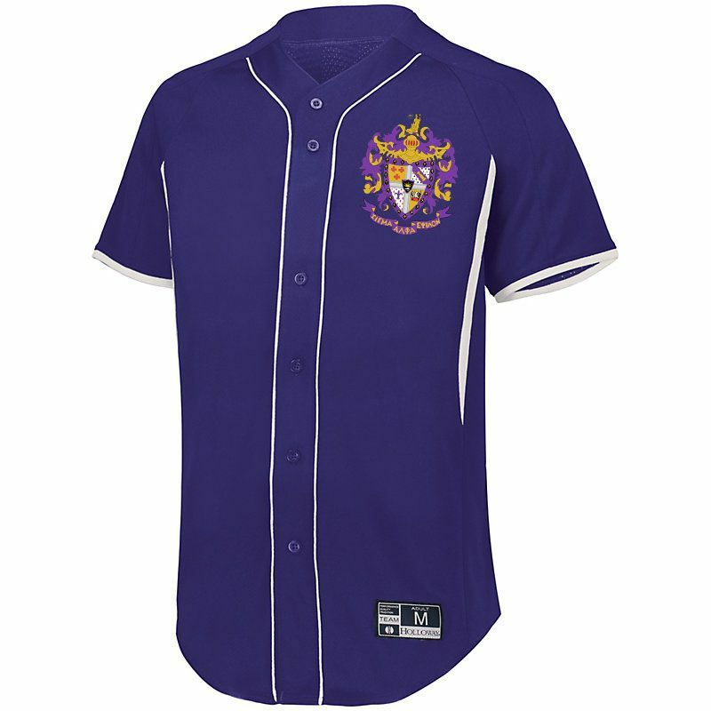 Fraternity Game 7 Full-Button Baseball Jersey