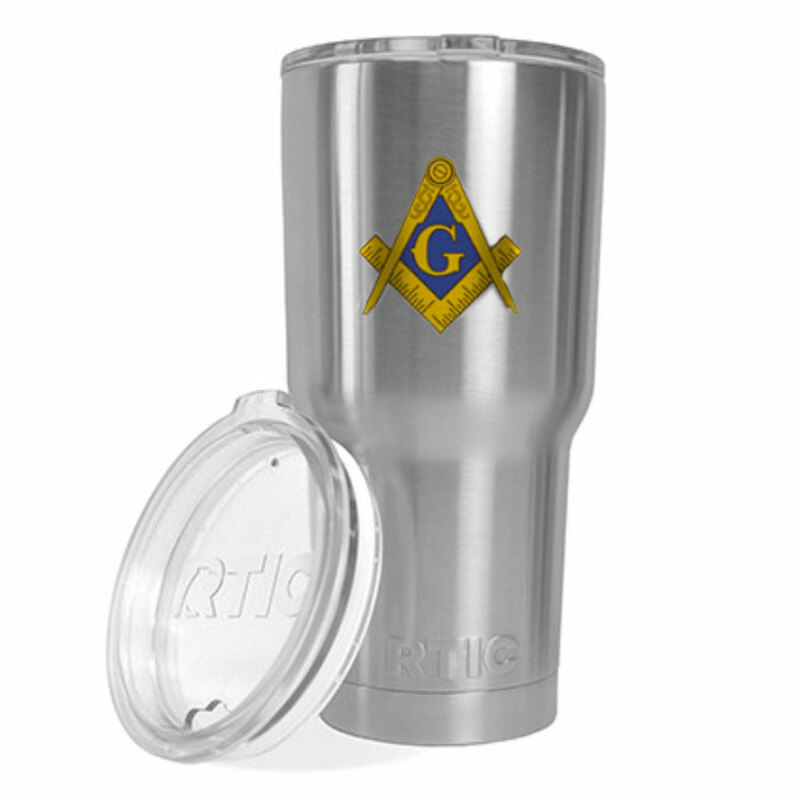 Fraternity & Sorority Crest - Shield Vacuum Insulated Tumbler