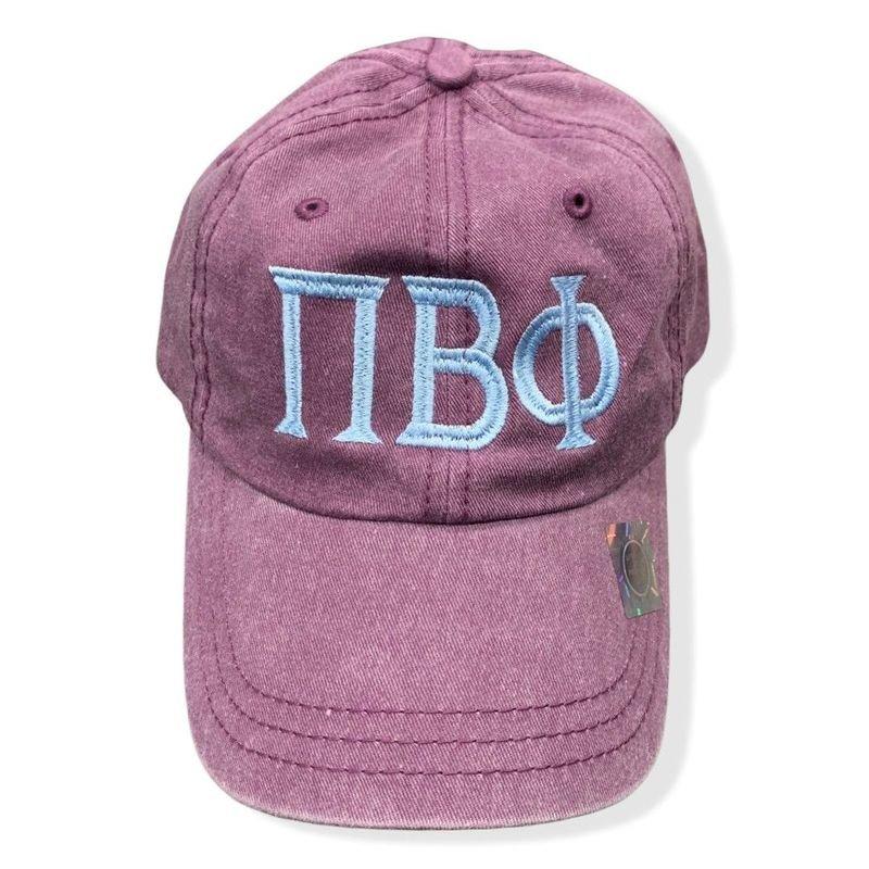 Fraternity & Sorority Greek Pigment Dyed Hat