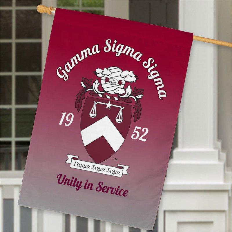 Gamma Sigma Sigma House Flag