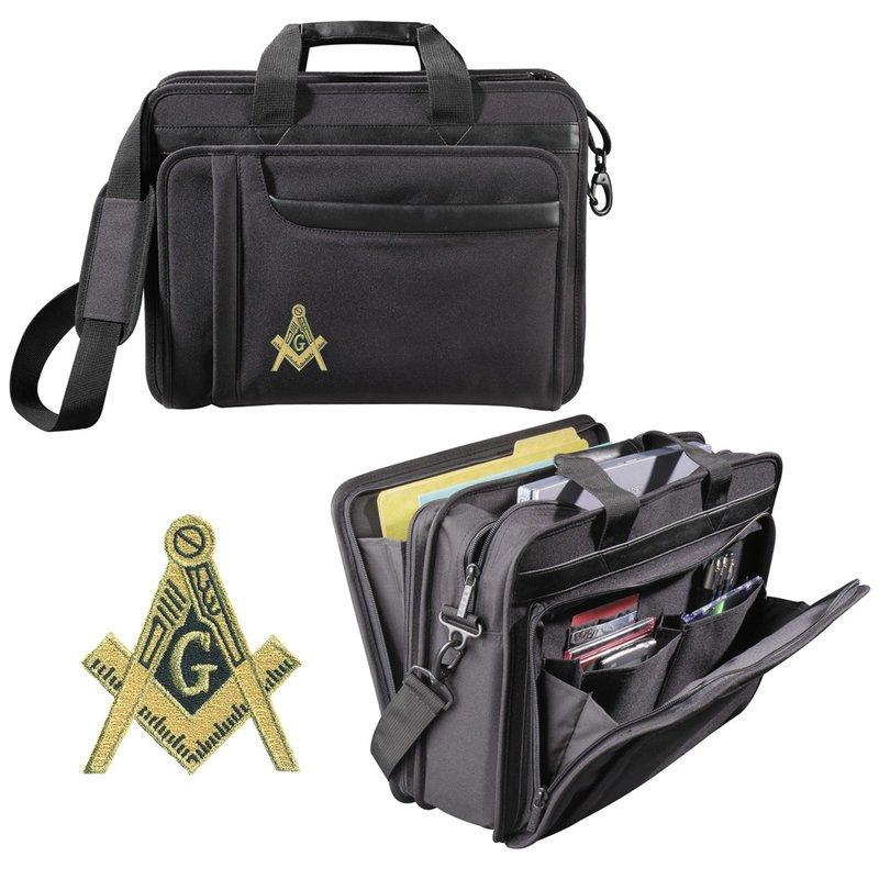 DISCOUNT-Greek Crest - Shield Briefcase Attache