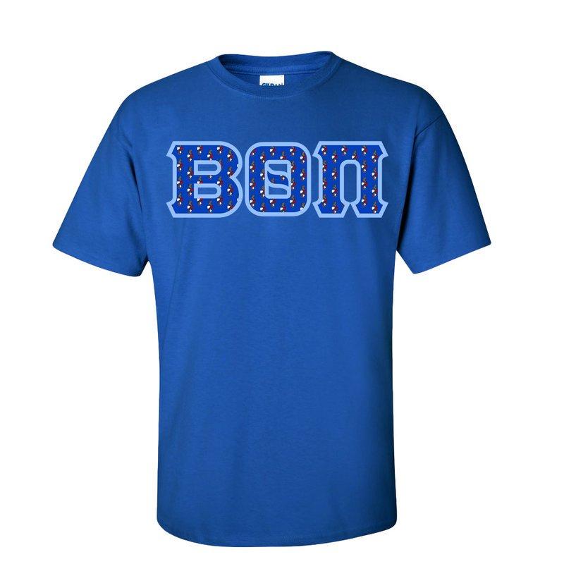 Greek Crest Twill Lettered Shirt