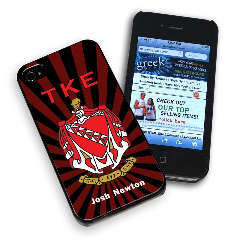 Greek Fraternity & Sorority Phone Cover
