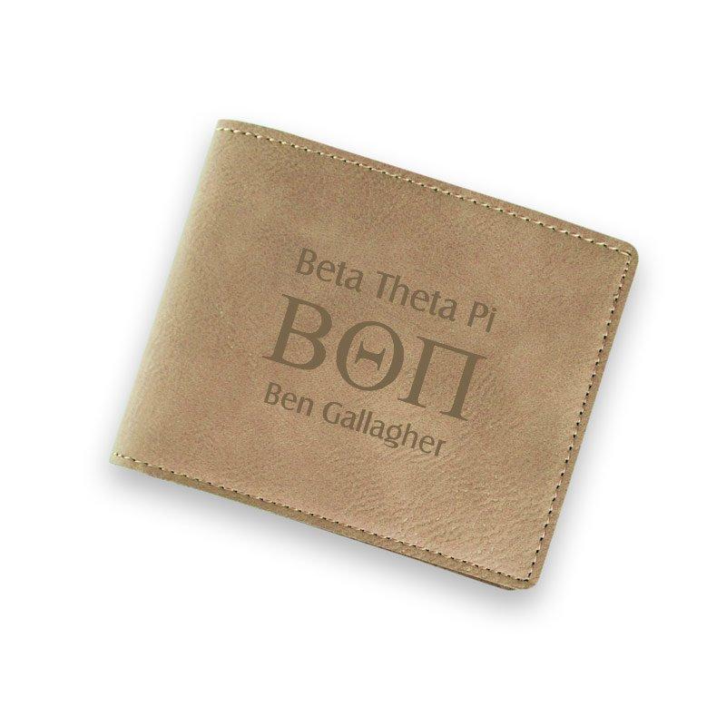 Greek Lettered Wallet