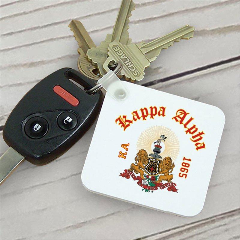 Kappa Alpha Color Keychains