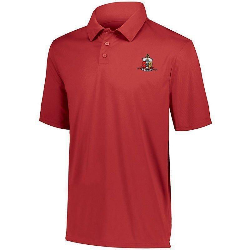DISCOUNT-Kappa Alpha Psi- World Famous Greek Crest - Shield Vital Polo