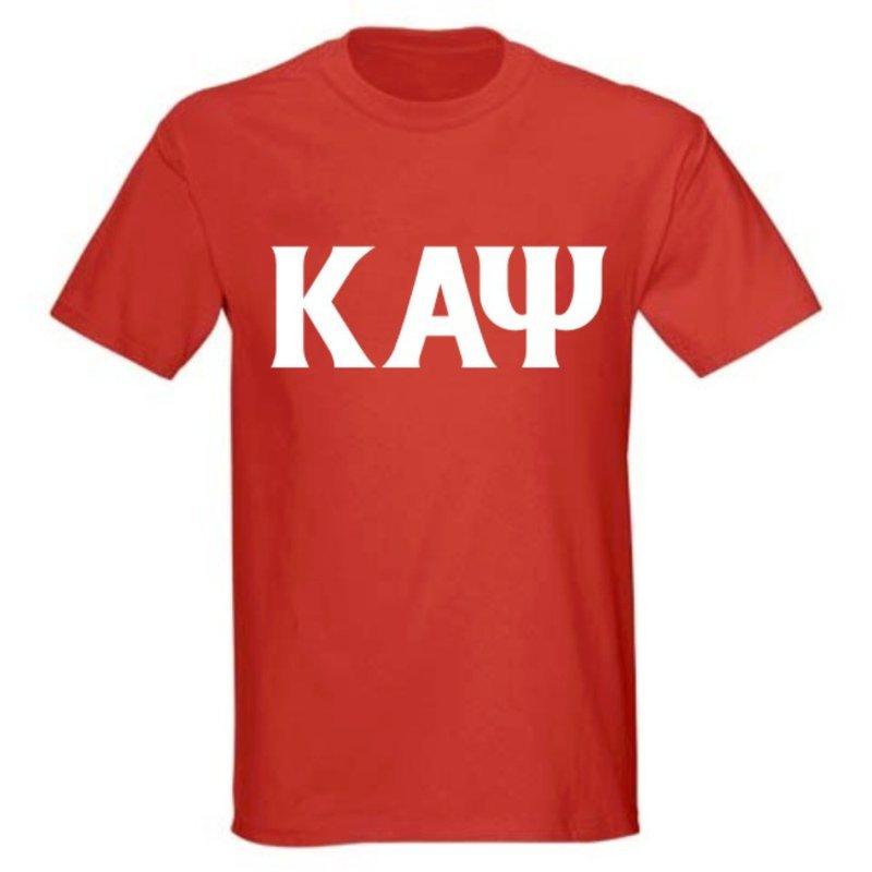 Kappa Alpha Psi letter tee