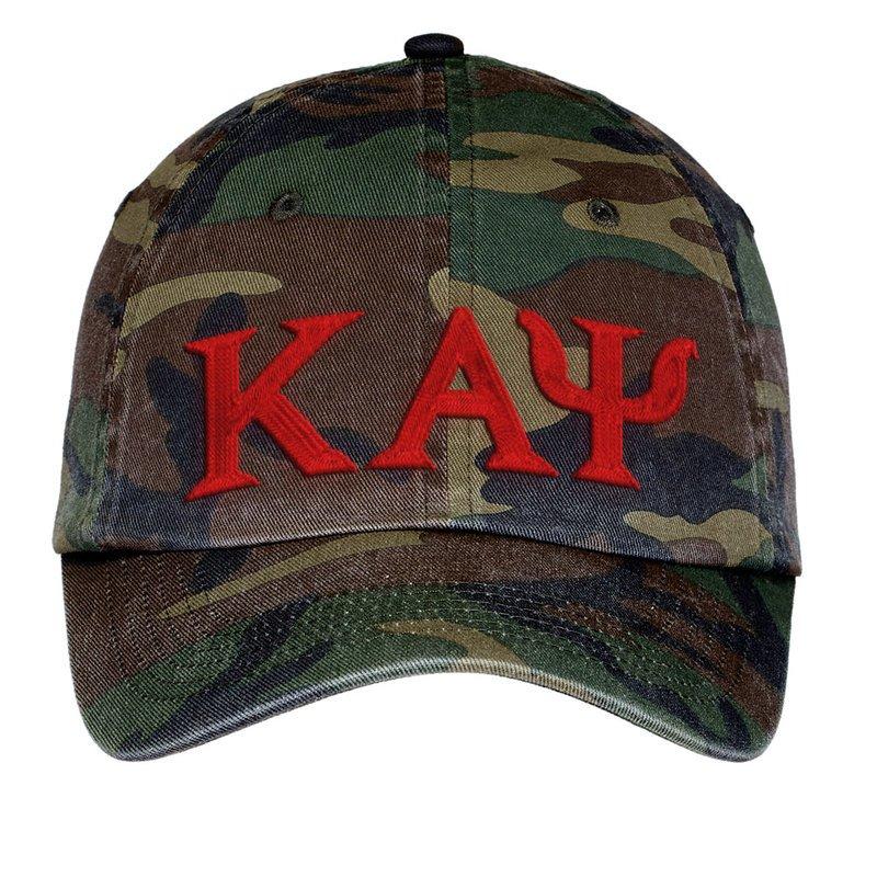 Kappa Alpha Psi Lettered Camouflage Hat