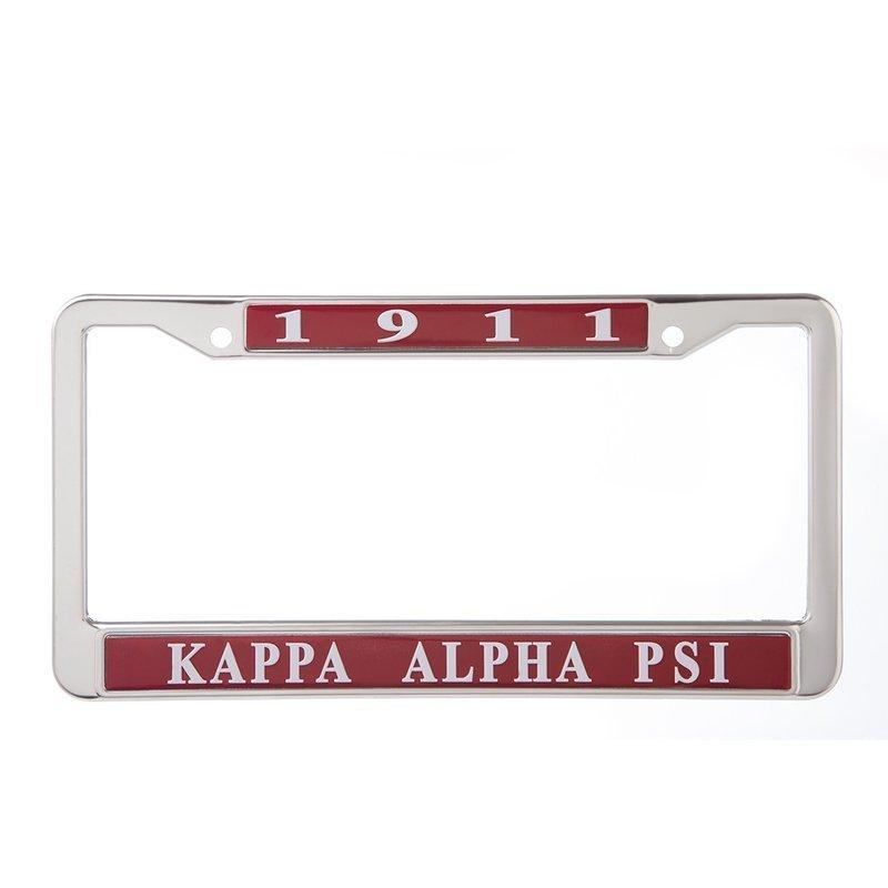 Kappa Alpha Psi Metal License Plate Frame Sale 2295 Greek Gear