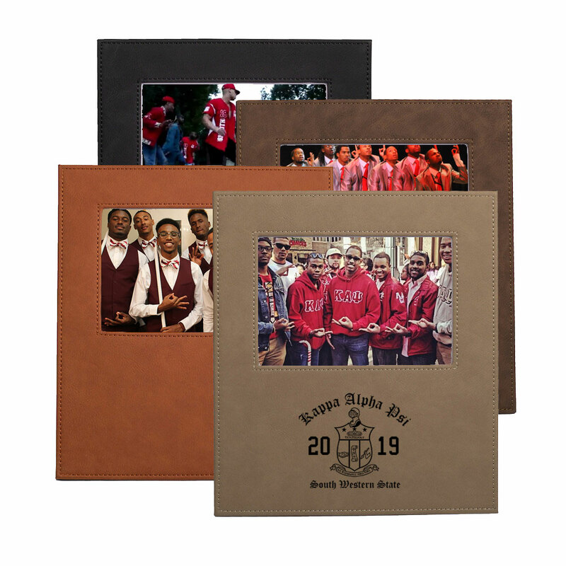 Kappa Alpha Psi Saddle Photo Frame