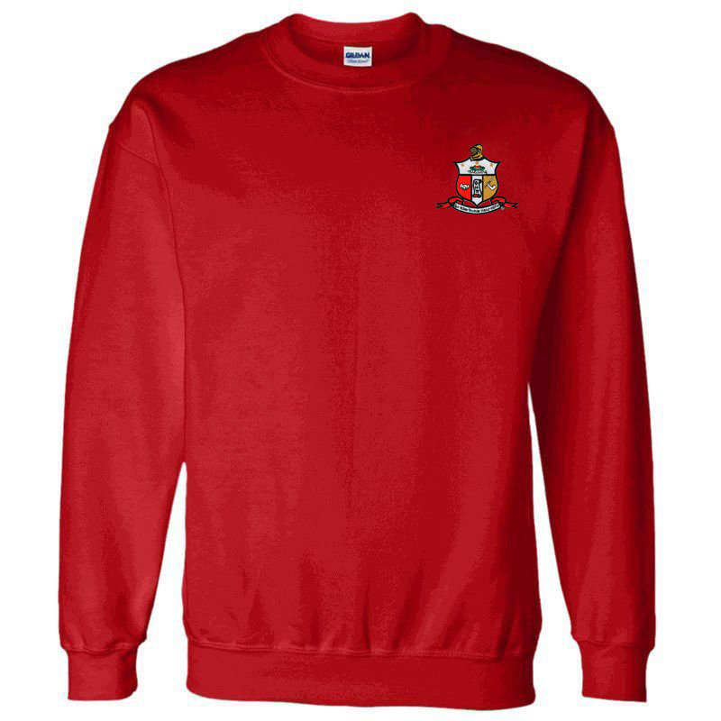 DISCOUNT-Kappa Alpha Psi World Famous Crest - Shield Crewneck Sweatshirt
