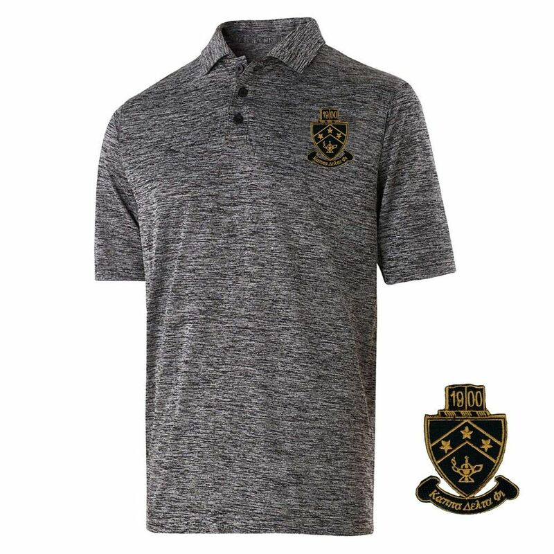 Kappa Delta Phi Greek Crest Emblem Electrify Polo