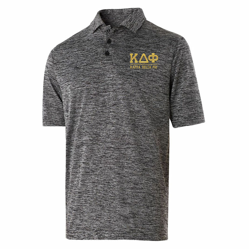 Kappa Delta Phi Greek Letter Electrify Polo