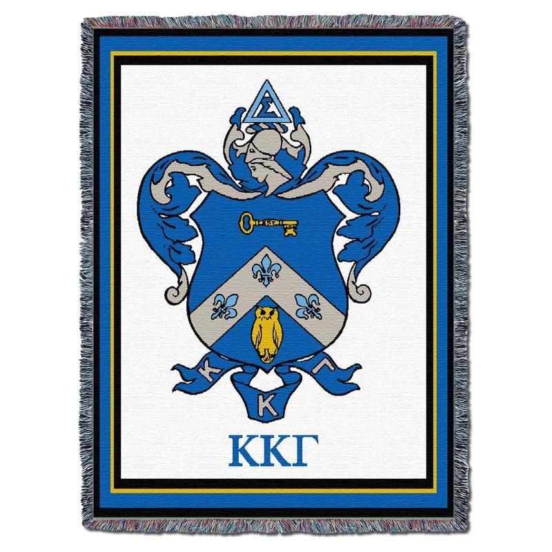 Kappa Kappa Gamma Blanket Throw