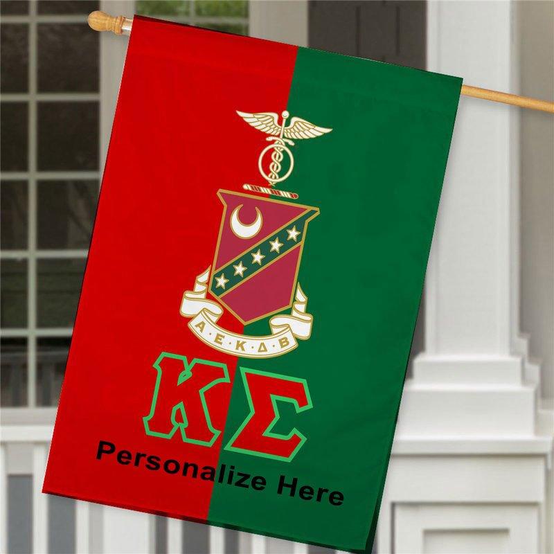 Kappa Sigma Crest House Flag