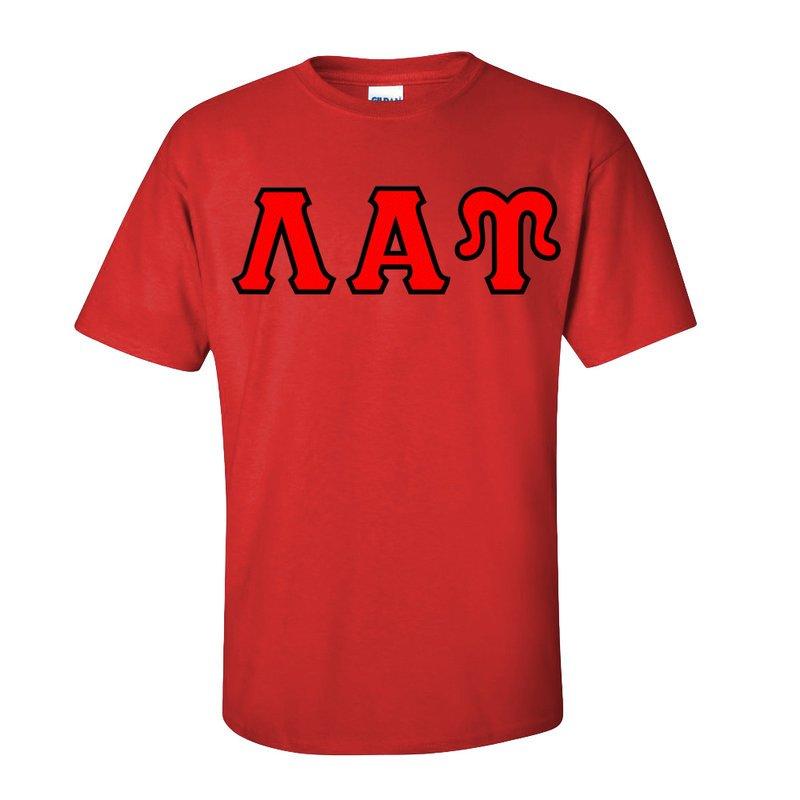 Lambda Alpha Upsilon Lettered T-Shirt