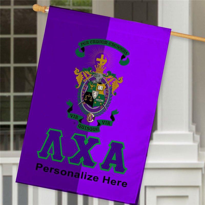 Lambda Chi Alpha Crest House Flag