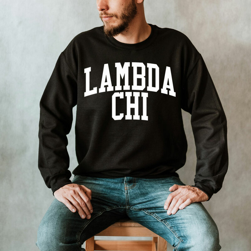 Lambda Chi Alpha Nickname Crewneck Sweatshirt