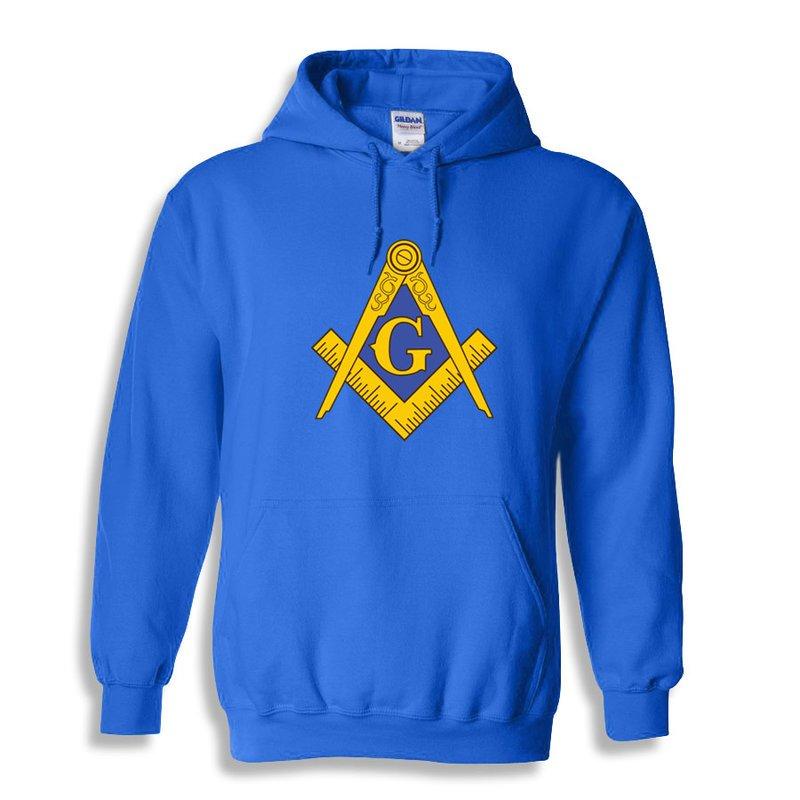 Mason   Freemason Logo Hoodie SALE  39.95. - Greek Gear® b75498c16750