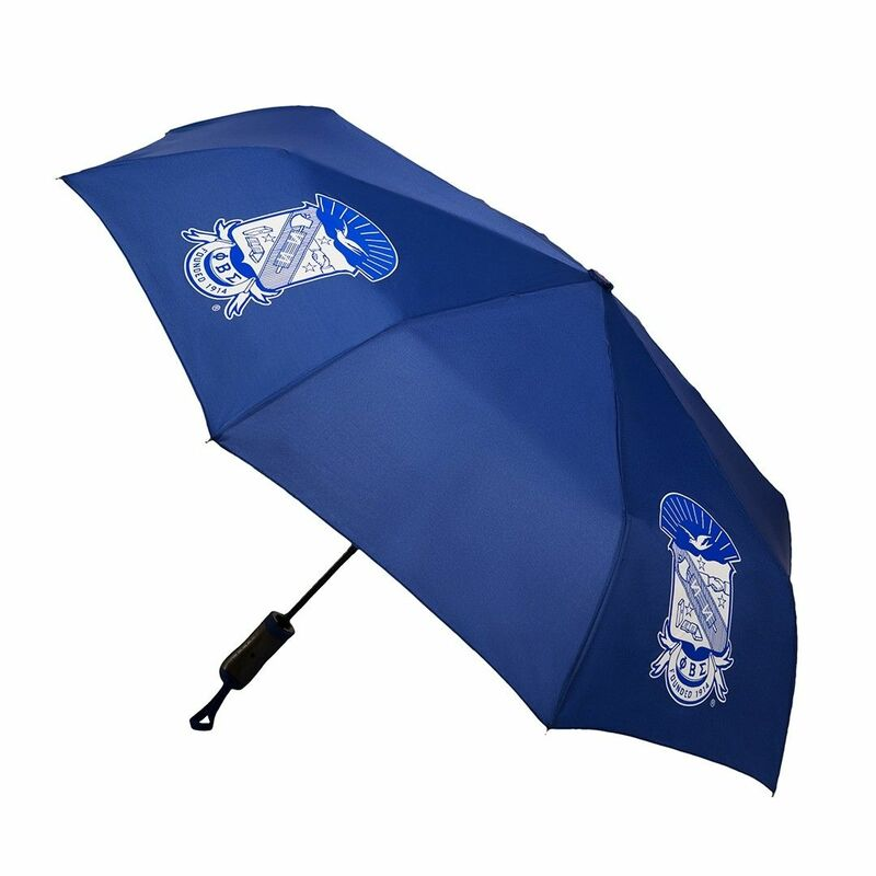 Phi Beta Sigma Folding Hurricane Umbrella