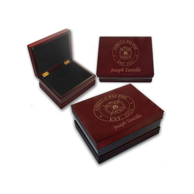 Omega Psi Phi Keepsake Box
