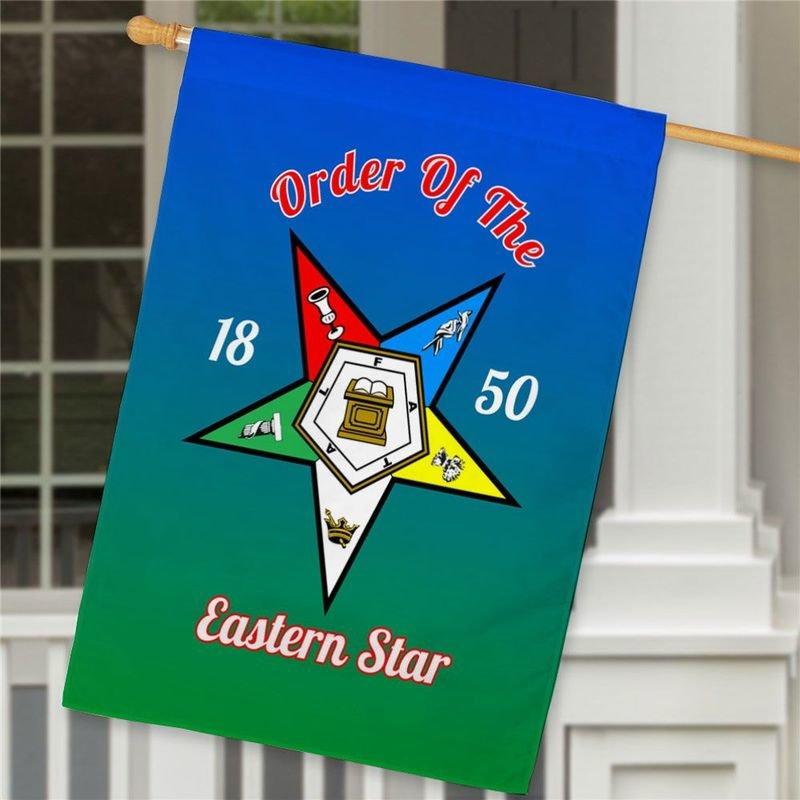 Order of Eastern Star House Flag