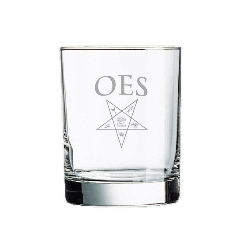 Order Of Eastern Star Rocks Glass