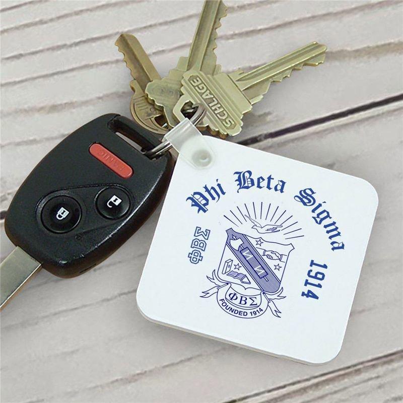 Phi Beta Sigma Keychains